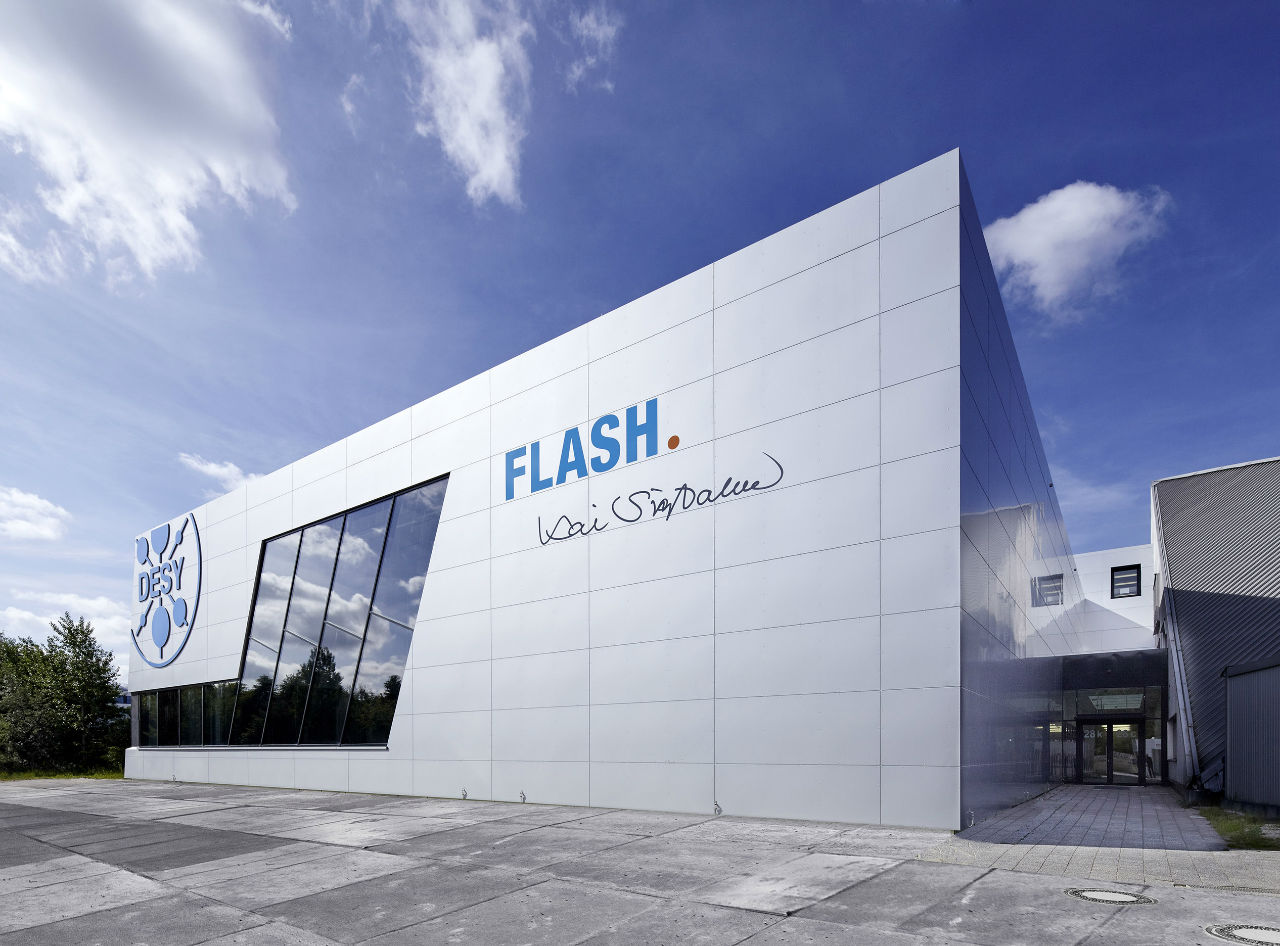 DESY Flash RHW Architekten Sorba