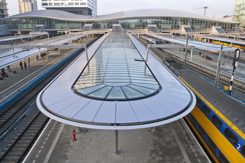 Perronkappen Utrecht Centraal Sorba