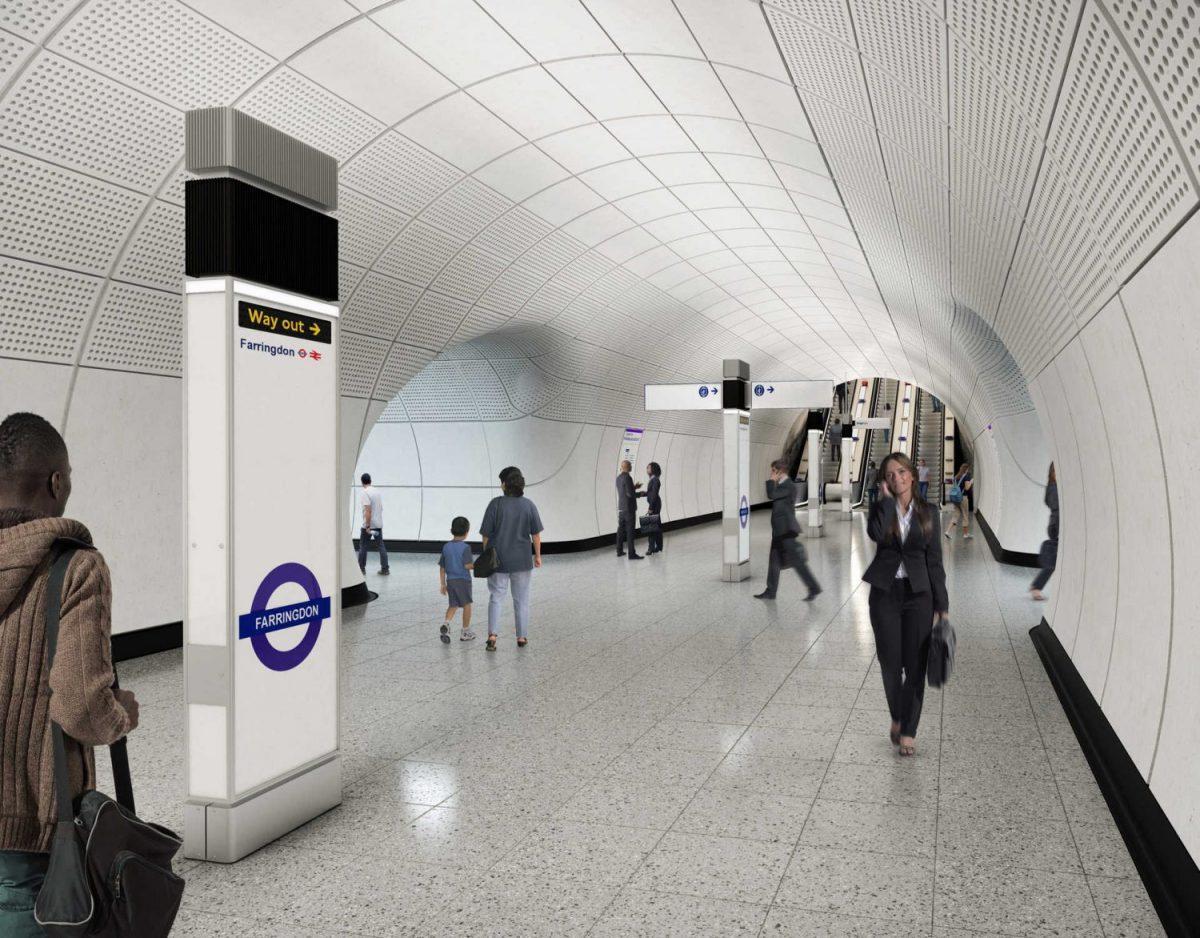 Farringdon Crossrail London Sorba