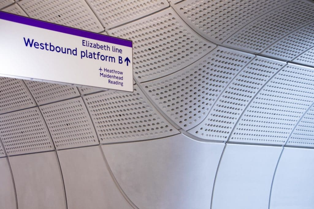 Farringdon London Elizabeth Line Stations Sorba