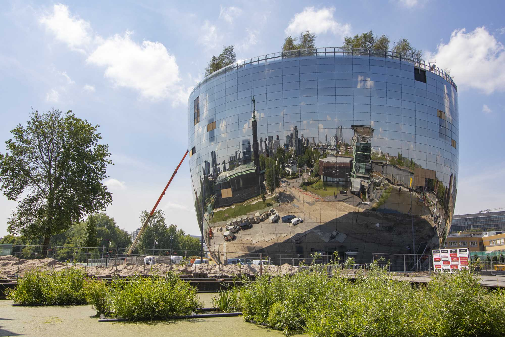 Sorba Projects | Spiegelgevel Depot Boijmans Van Beuningen | Rotterdam