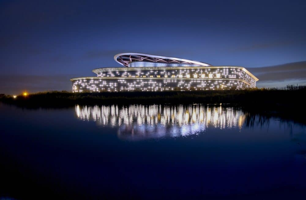 Holand Casino Venlo | Night view | Sorba Projects