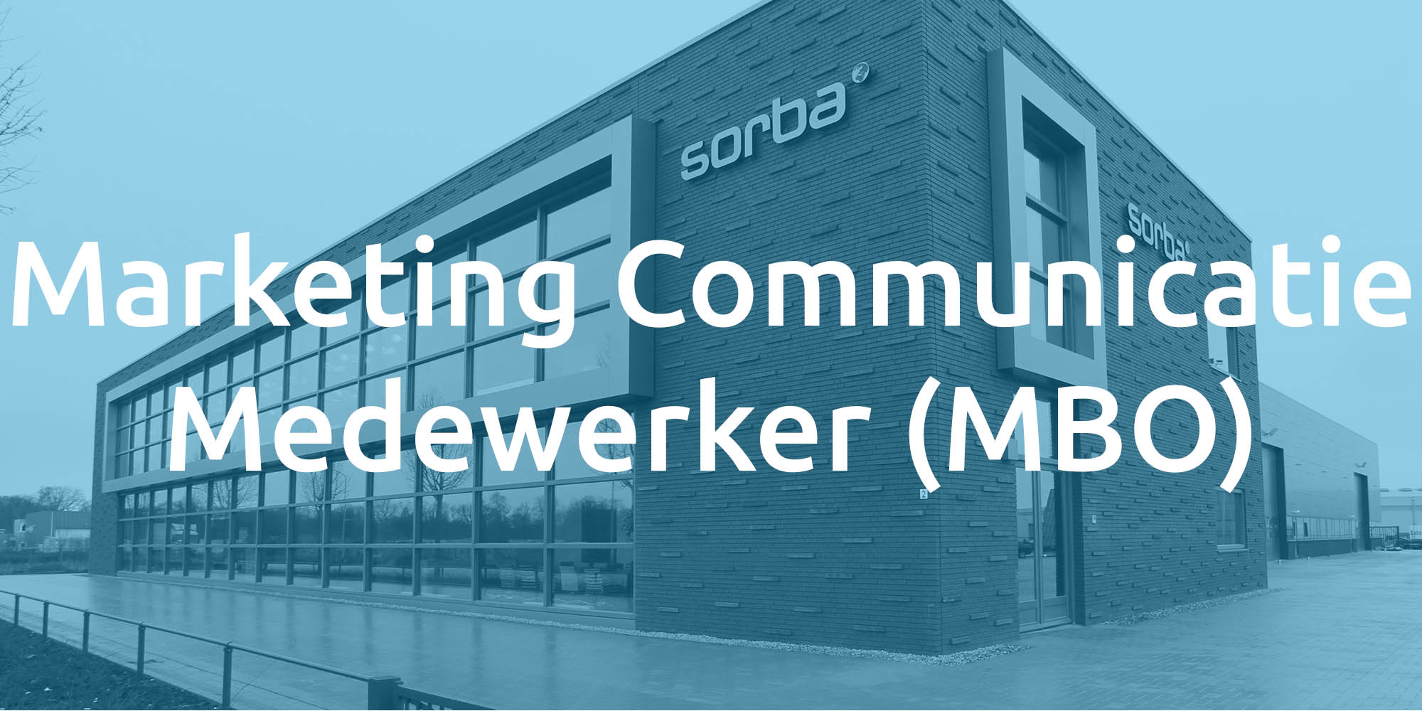 Vacature Marketing Communicatie Sorba