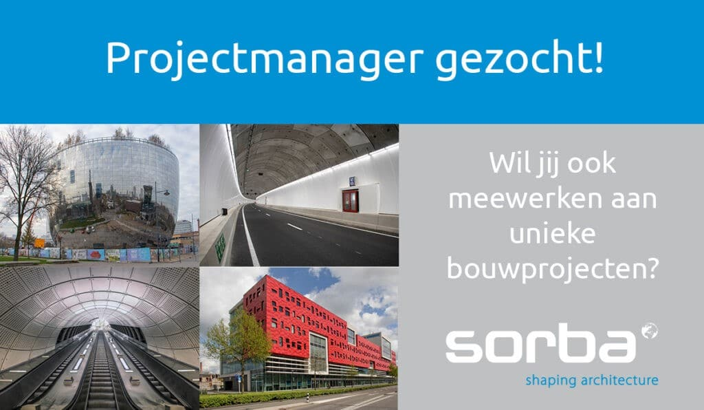 Vacature project manager | Sorba Projects