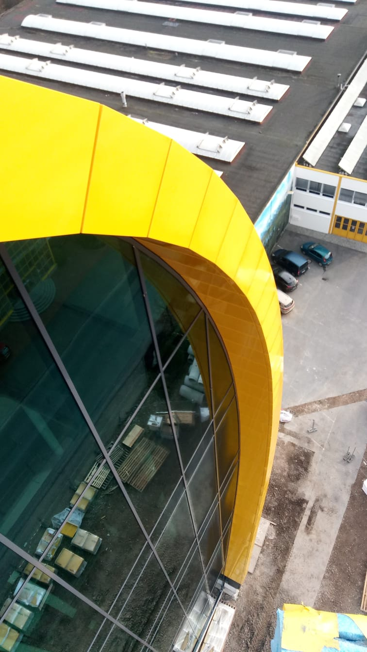 Spartherm Melle | Gevelbouw | Sorba Projects | Van Grote Hoogte