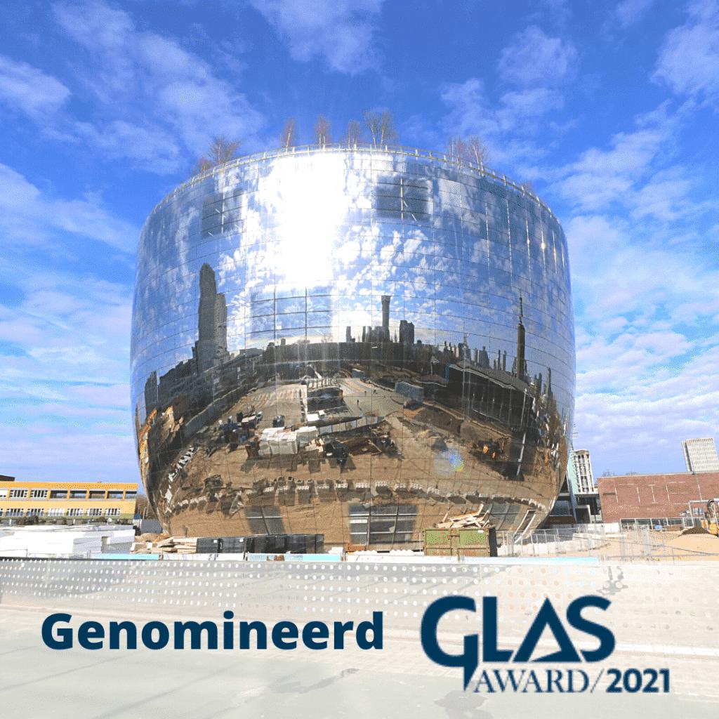 Depot Boijmans Genomineerd Glas Award 2021